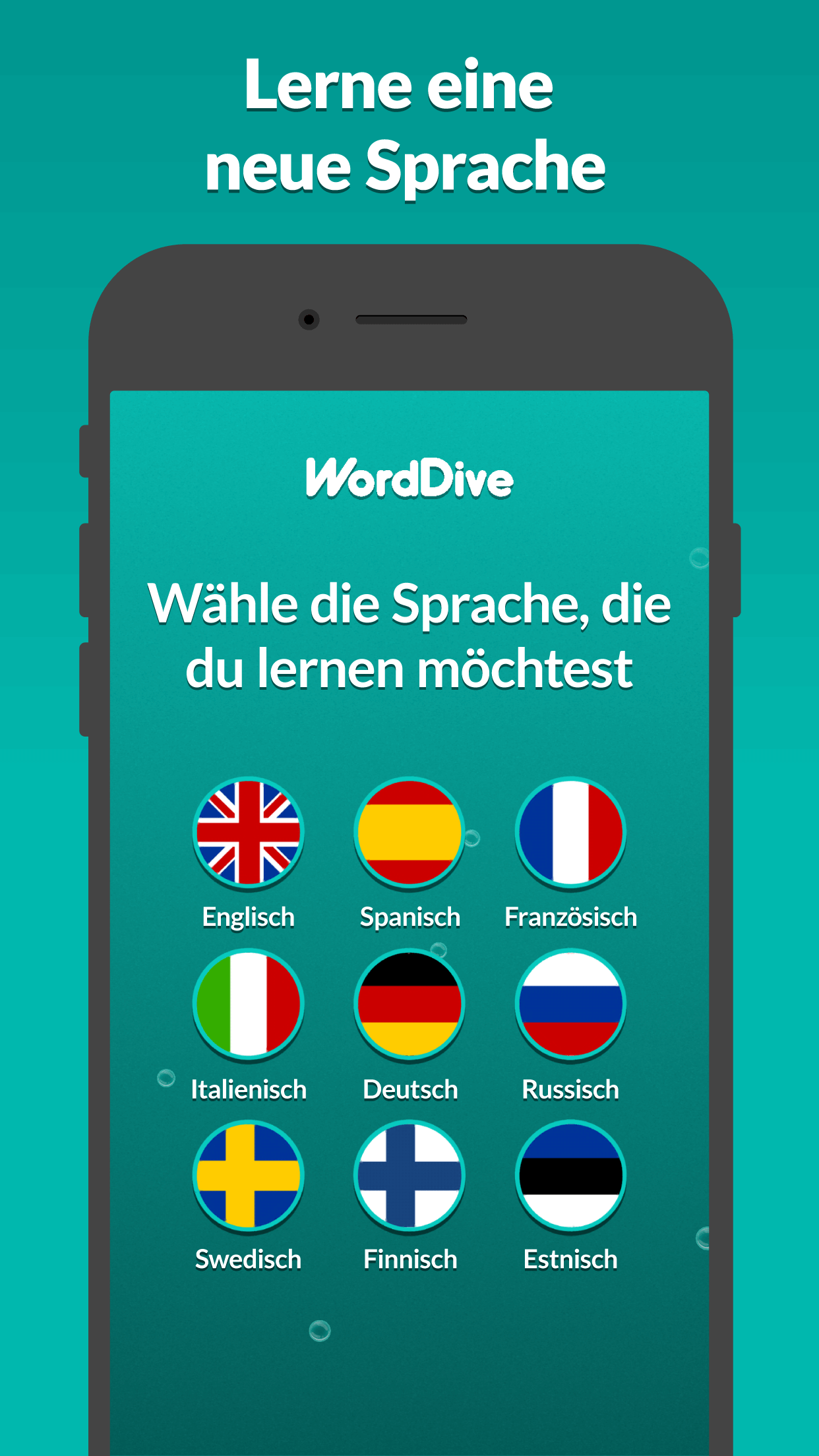 WordDive Mobile App in App Store